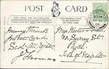 Miss Westwood. Surrey Street, Ryde, Isle of Wight. 1905  JE.1546