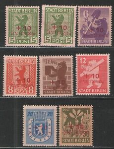 Germany Local Issues - Storkow 1946 MNH/MH/HR VG/F - Scarce Storkow 1946 Locals