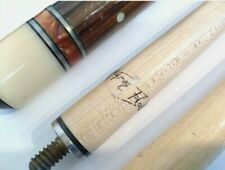 Two piece pool cue stick with 2 shafts - plus case