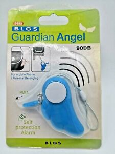 1PC Safe Sound Personal Alarm Wing Super Loud 90DB Security Bag Key Chain US
