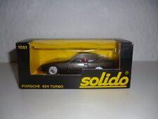 SOLIDO / MODELLAUTO / N° 1051 / PORSCHE 924 TURBO / ALT / 1:43 / #67#