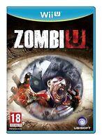 Zombi U Nintendo Wii U - PRISTINE - Super FAST & QUICK Delivery Absolutely FREE