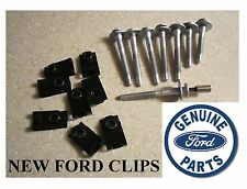 (8) FORD SUPERDUTY TRUCK BED BOLTS & (8) NEW BED CLIPS & SOCKET FORD SUPER DUTY