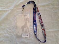 Stadium Series Lanyard Ticket Holder NY Rangers Islanders NJ Devils NHL 2014