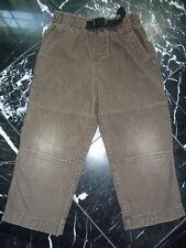 LANDS' END Boys Gray Elastic Waist Corduroys Jeans Pants 4T