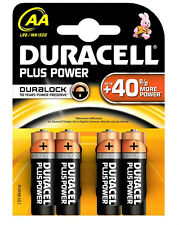 20 pile batterie stilo AA alkaline DURACELL PLUS POWER DURALOCK-5 blister MN1500