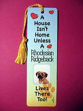 """Rhodeasian Ridgeback"" A House Isn't Home Tassel Keb (flag gold tassel) Sku# 62"