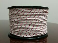 Tobby SPG Lace Cord 100 meter ( 328' ) roll White / Blue / Pink