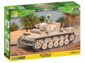 Panzer II  Ausf. F - COBI 2527 - 420 brick light tank