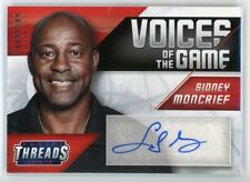 2014-15 SIDNEY MONCRIEF 009/349 AUTO PANINI THREADS VOICES OF THE GAME AUTOGRAPH