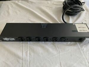 Tripp-Lite RS-1215  120V 15A Rack Mount Power Tap 12 Outlet Plug Network Sound