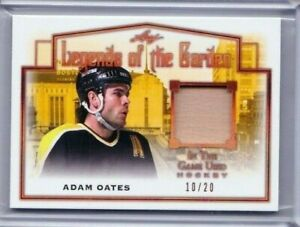 2019 LEAF ITG LEGENDS OF THE GARDEN ADAM OATES RELIC STICK 10/20  PD
