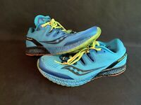Saucony Sky Blue Everun Womens Size 9 Freedom Iso Running Shoes S20355-3