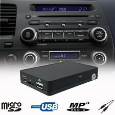Car USB SD AUX MP3 Player CD Changer Adapter Interface Honda CRV CRZ FRV S2000