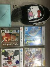 Consola Nintendo DS Lite gris + juego Los Sims 2 Náufragos + funda + cargador