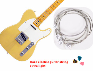 Haze DEG-009 Electric Guitar Strings Set Extra Light 009 With 3 Picks