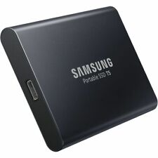 Samsung 1TB T5 Portable USB 3.1 Type-C and Type-A SSD Solid-State Drive (Black)