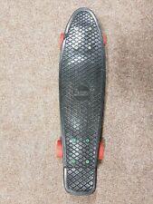 "Penny Nickel Skateboard, Black/ Rasta, 22"", Used, 100% Genuine, Free P&P!"