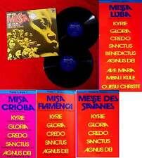 2LP Missa (Philips 6641 069) D - Missa Luba / Missa Criolla / Missa Flamenca....
