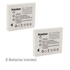 2x Kastar Battery for Kodak KLIC-7005 EasyShare C763