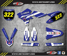 Yamaha YZ 250 F-2014 - 2017 stickers Full Custom Graphic Kit PREMIERE STYLE
