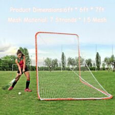 Durable 6' x 6' Portable Lacrosse Practice Net for Sport Training Recreational
