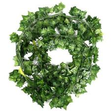 12 x artificial plants of vine false flowers ivy hanging garland for the we T8K3