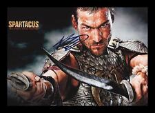 ANDY WHITFIELD - SPARTACUS AUTOGRAPHED SIGNED & FRAMED PP POSTER PHOTO