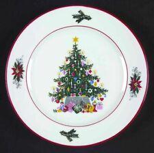 Bavaria Schumann Azberg Germany Christmas Noel Salad/Dessert Plates, Set of 8