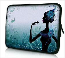 """17-17,3"""" LAPTOP SLEEVE CARRY CASE BAG 4 ALL LAPTOPS, FREE POST *BLUE LADY*"""