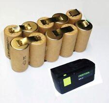 Exchange pack for Original Festool Battery BPS 12 s 12 V NiMh with 3 Ah HP-3000