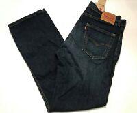 NEW Levi's Men's 505 Regular Fit Straight Leg Jeans