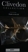 Boeing 787 Dreamliner Key Ring with Gold Plated finish