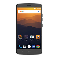 ZTE Max XL 16GB LTE Smartphone For BOOST MOBILE + First Month FREE -$50 Included