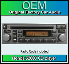 Honda S2000 CD player, Honda radio car stereo + code, AUX CD changer compatible