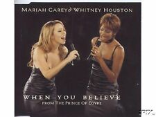 "Mariah Carey & Whitney Houston RARE 4 TRACK AUSTRALIAN CD ""When You Believe"""
