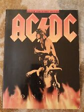 AC/DC Bonfire Guitar Tab Edition 304 Pages Book OUT OF PRINT Ex Cond