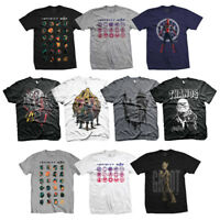 Official Marvel Avengers Infinity War Thanos Face Infinity Gauntlet Mens T-shirt