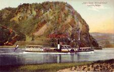 """Deutschland """"Salonboot Wilhelmina"""" Loreleyfelsen"""