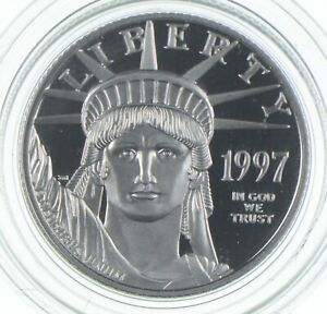 1997-W $25 1/4 Oz. Platinum Eagle - U.S. Platinum Coin *024
