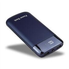 50000mah Power Bank LED LCD 2usb External Backup Battery Charger for Smart Phone Black