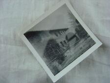 Unusual Vintage Photo Ghost Figure over Mission Steps 815