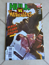MARVEL COMICS THE HULK VS HERCULES ONE-SHOT 1 WHEN TITANS COLLIDE 64 PAGES