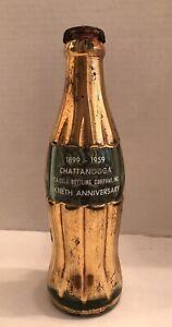 1899-1959 Chattanooga Coca-Cola Sixtieth Anniversary Gold Bottle