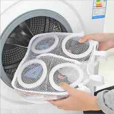 Helpful Shoes Laundry Washing Wash Mesh Bag Zipper Dry Shoes Storage Organizer