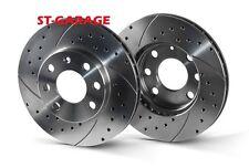 HONDA HR-V (GH) Front Brake Discs SLOTTED/PERFORATED 282 mm