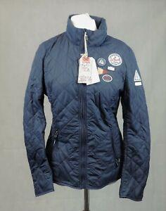 Gaastra Saint Barth Navy Blue Ladies Quilted Jacket XL rrp £135 CR101 AA 09