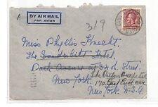 DD78 1936 JAMAICA NEW YORK USA Cubierta {samwells-cubre} Pts