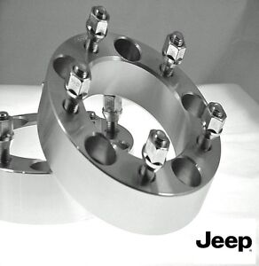 4 Pc CJ 7 JEEP 5X5.50 Wheel Spacer Adapters 1.50 Inch # AP-5550C1/2