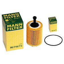 5x MANN Ölfilter HU719/7x Filtereinsatz Audi VW Seat Skoda 2.0 TDI R32 3.2l V6 5